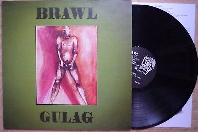 Brawl LP Gulag Irish Hardcore Punk 1994 Genet Records Neuthrone