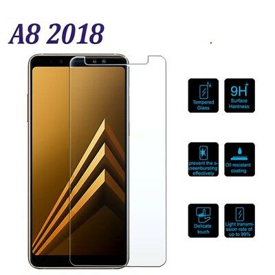 Gorilla CLEAR Tempered Glass Film Screen Protector For SAMSUNG GALAXY A8 2018