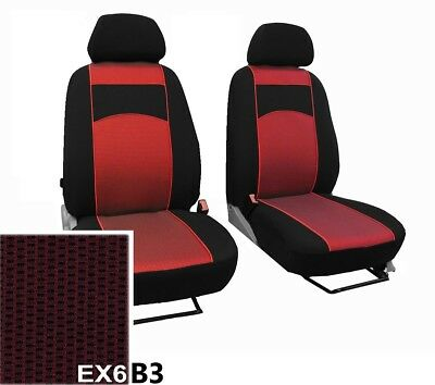 Nissan Qashqai +2 5 Seats 2007-2013 Upholstery Fabric Front Tailored Seat Covers