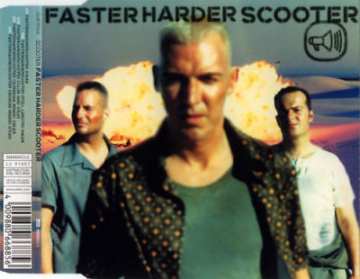 Scooter - Faster Harder Scooter CD, Maxi CD 3