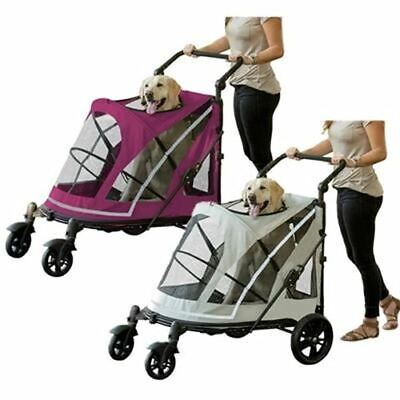 NEW Pet Gear Expedition No Zip Dog & Cat Pet Stroller~XL Dogs~2 Colors Ship FREE