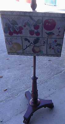 antique pole screen