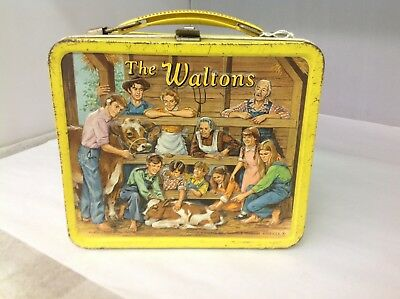 Vintage How The Waltons Lunch Box G-706