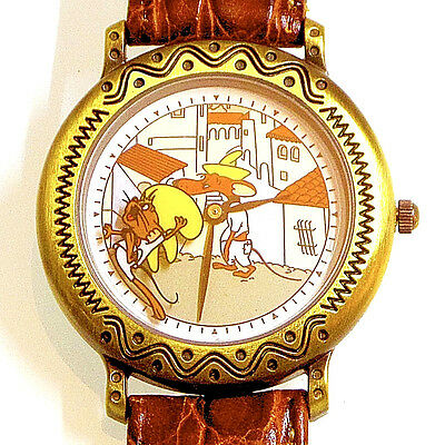 Poke Rodriguez, Speedy Gonzales On Spinning Wheel, Fossil Warner Bros Watch $105