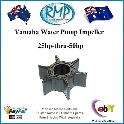 A Brand New RMP Yamaha Water Pump Impeller 25hp-thru-50hp # R 6H4-44352