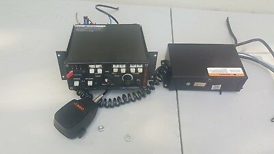 Code 3 3892L6 MasterCom PA  Light Controller, Mic EMS Fire Police horn power sup