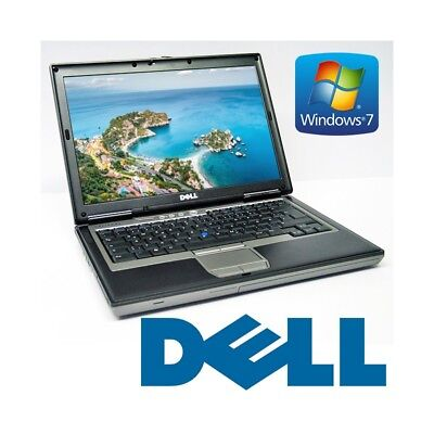 """Laptop Notebook Dell D620 Win 7 Trial 14,1"""" 2Gb 40Gb Rs232 Seriell"""