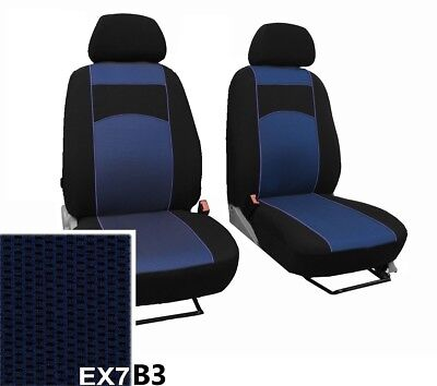 Nissan Qashqai +2 5 Seats 2007-2013 Front Strong Fabric Tailored Seat Covers
