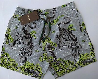 07c82c8551 New GG Shorts Swimwear Men's Trunks Swim Suit Versace Size M Jungle Tiger