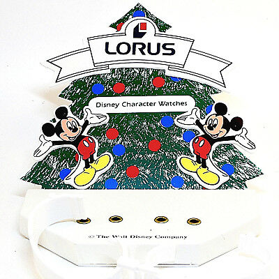 Mickey Mouse Christmas Watch Counter Top Display, Truly HTF Collectible Just $35