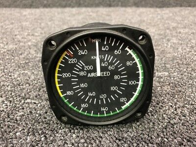 8025 United Inst Airspeed Indicator