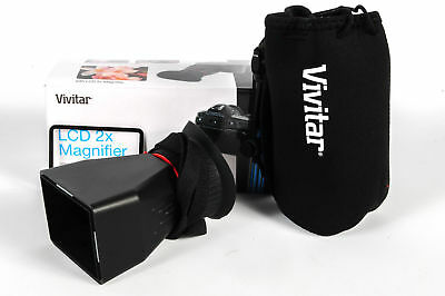 """Vivitar LCD 2X Magnifier for 3"""" Screens"""
