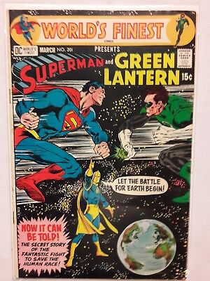 World's Finest  #201 - Neal Adams cover - Dr. Fate  -- - VF+  Condition