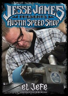 Jesse James Presents - Austin Speed Shop NEW DVD West Coast Choppers Monster NR