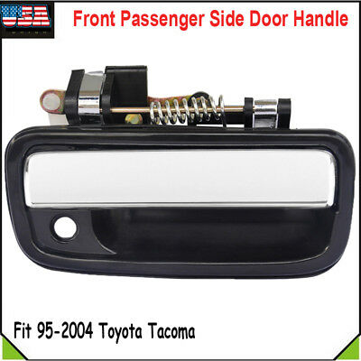 Outer Black & Chrome Front Right Side Door Handle For 95-04 Toyota Tacoma