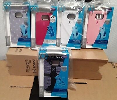 Lot of 10 Speck Samsung Galaxy S6 CandyShell Case New White/Purple/Pink/Blue