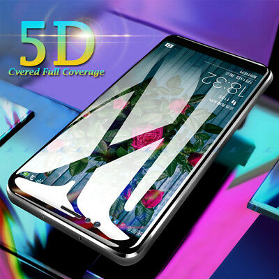 For Huawei P20 Lite / Pro Full 5D Tempered Glass 9H Screen Protector Cover