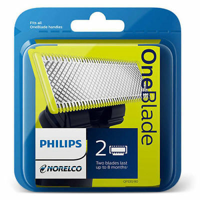 Philips Norelco OneBlade Replacement Shaver Head 2 Pack *Brand New Sealed Pack*