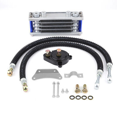 Motorcycle Aluminum Engine Oil Cooler Cooling Radiator Kit for Yamaha YS150