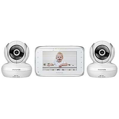 Motorola MBP38S-2 Digital Video Baby Monitor With 4.3-Inch Color LCD Screen And
