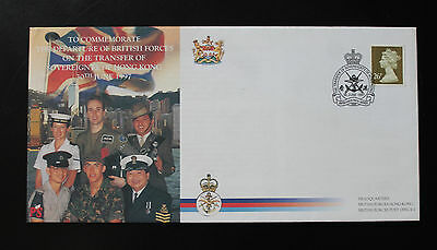 Hong Kong 1997 'Transfer of Sovereignty of HK' Special Cancel BFPS FDC K - 093