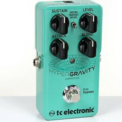 NEW TC Electronic HyperGravity Compressor Guitar Pedal FREE USA Priority SHIP!!