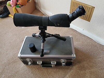 Vanguard VSP-81 Spotting Scope with stand and EOS Camera Mount