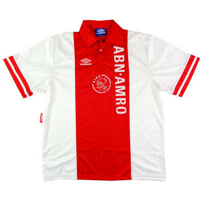 1993-94 Ajax Maglia Home XL (Top)  SHIRT MAILLOT TRIKOT
