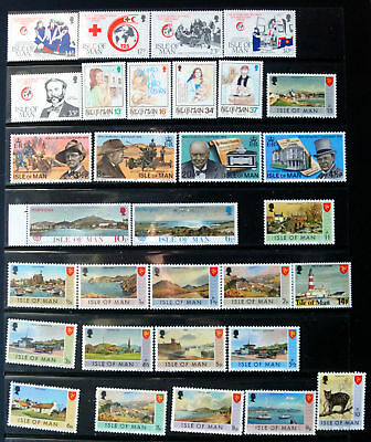 Great Selection of Unmounted Mint Isle Of Man Stamps.