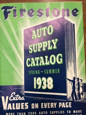 1938 Firestone Spring Summer Catalog Auto Supplies,Tires, Bicycles  etc