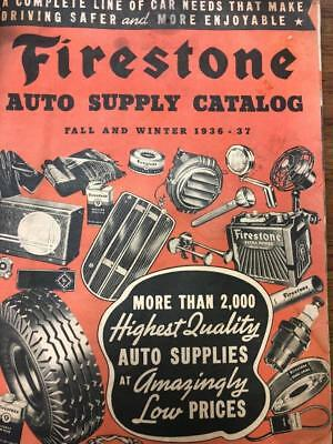 1936 Firestone Fall and Winter Catalog- Auto Supplies, Bicycles, Tires, etc