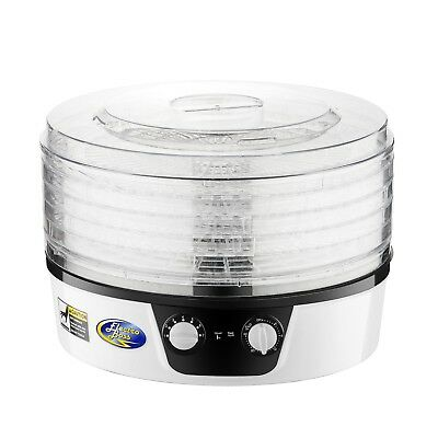 Electro Boss Baja Pro Food Dehydrator with 24 Hour Timer | 5 Trays | Rotating