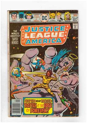 Justice League Of America # 134 The Battle at the Edge of Forever! grade 3.5 !