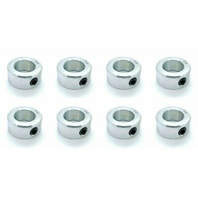"Eight (8) 3/4"" Bore Zinc Plated Steel Shaft Collars w/ Set Screw"