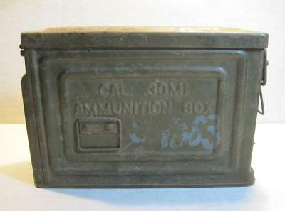 Vintage Wwii Ammo Can .30 Cal Metal Ammunition Box Reeves M1 U.s.