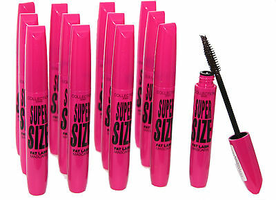 3 x Collection SuperSize Fat Lash Mascara | Ultra Black | RRP £15