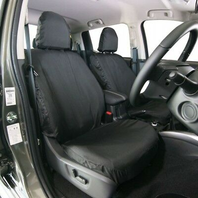 TOWN & COUNTRY Car Seat Cover - Font Seat - Black - Fiat Fullback and Mitsubishi