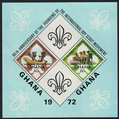 Ghana World Scouting Conference overprint MS SG#MS676