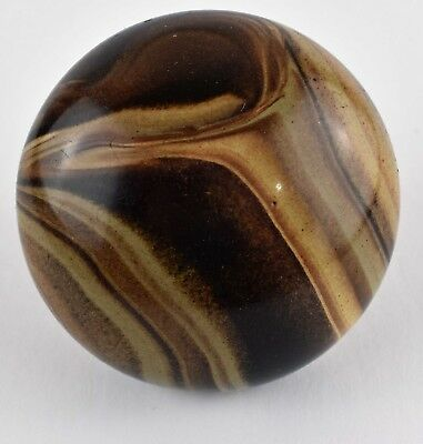 Marble Color Door Knob - Rare Color Chocolate Tan Beige Brown Swirl