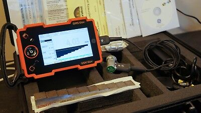 GE USM Go+ DMS Go+ Calibrated Ultrasonic Flaw Detector (Fully loaded)
