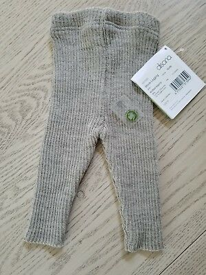 DISANA Leggings 100% MERINO WOOL baby children unisex knit knitted pants longies