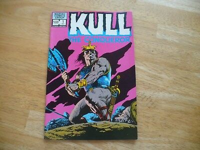 Kull The Conqueror #1 (9.0 Vf/nm) Marvel Dec 1982 - A Very Nice Comic!