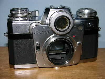 Zeiss Ikon Contarex Camera No. Y10779 model  Bullseye Clean & Working Condition