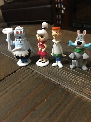 Hanna Barbera The Jetsons Vintage Applause PVC 4 Figure Lot Set 1990 NOS New