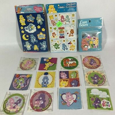 New Care Bear Stickers 2 Packs, 12 Loose Stickers, One Bag