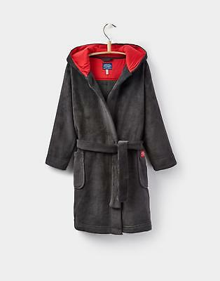 Joules Lupo Character Dressing Gown in Wolf
