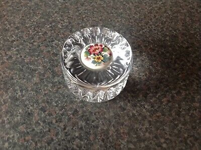 Rare And Beautiful Crystal Cut glass Paper Weight