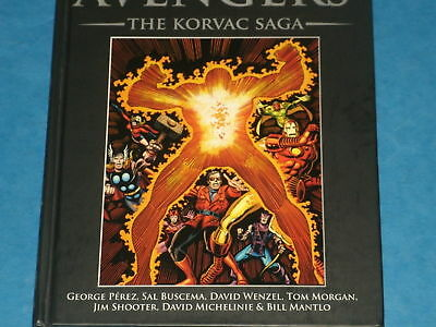 Marvel HB Graphic Novel: THE AVENGERS 'THE KORVAC SAGA' w/Guardians Of Galaxy