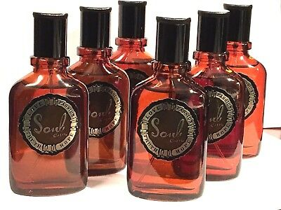 Lot of 6 Pc~Curve Soul Cologne By Liz Claiborne Men's EDT Spray (6x30ml)