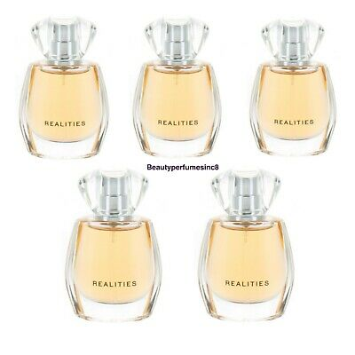 Lot of 6 Pc~Realities by Liz Claiborne Women's Perfume .5 oz EDP Sp-(6x15ml)